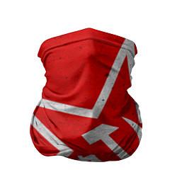 Бандана-труба с принтом Флаг СССР: Серп и Молот, цвет: 3D, артикул: 10105079605527 — фото 1