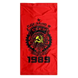 Бандана-труба с принтом Сделано в СССР 1989, цвет: 3D, артикул: 10144257505527 — фото 2
