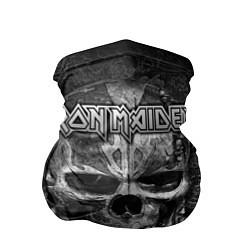 Бандана-труба Iron Maiden цвета 3D — фото 1