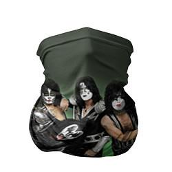 Бандана-труба Kiss цвета 3D — фото 1
