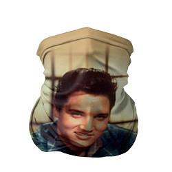 Бандана-труба Элвис Пресли цвета 3D-принт — фото 1