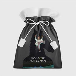 Мешок для подарков Bojack Horseman цвета 3D — фото 1