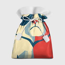 Мешок для подарков Nope цвета 3D — фото 1