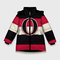 Куртка зимняя для девочки Ottawa Senators O цвета 3D-черный — фото 1