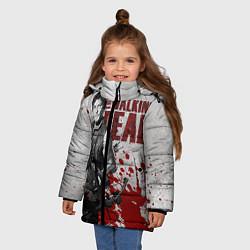 Куртка зимняя для девочки Walking Dead: Deryl Dixon цвета 3D-черный — фото 2