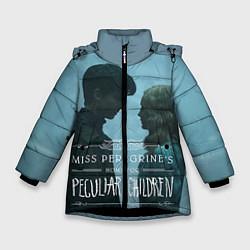 Куртка зимняя для девочки Джейкоб и Элла цвета 3D-черный — фото 1