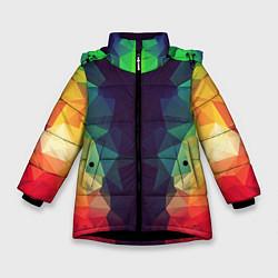 Куртка зимняя для девочки Grazy Poly VPPDGryphon цвета 3D-черный — фото 1