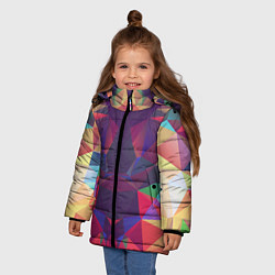 Куртка зимняя для девочки Grazy Poly VPPDGryphon цвета 3D-черный — фото 2