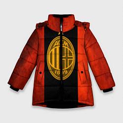 Куртка зимняя для девочки Milan5 цвета 3D-черный — фото 1