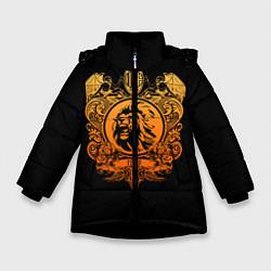 Куртка зимняя для девочки Milan6 цвета 3D-черный — фото 1
