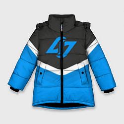 Куртка зимняя для девочки CLG Uniform цвета 3D-черный — фото 1