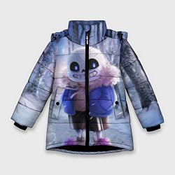 Зимняя куртка для девочки Winter forest & Sans