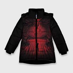 Куртка зимняя для девочки Alien: Space Ship цвета 3D-черный — фото 1