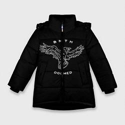 Куртка зимняя для девочки BMTH: Doomed цвета 3D-черный — фото 1