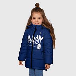 Куртка зимняя для девочки Spurs цвета 3D-черный — фото 2