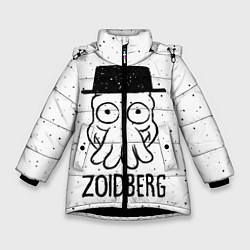 Куртка зимняя для девочки Zoidberg цвета 3D-черный — фото 1