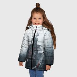 Куртка зимняя для девочки Shadow Tactics цвета 3D-черный — фото 2