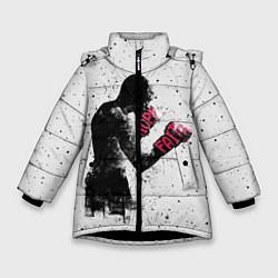 Куртка зимняя для девочки Hope Faith цвета 3D-черный — фото 1