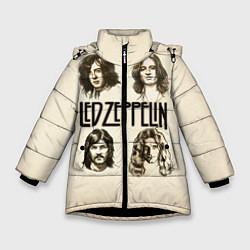 Куртка зимняя для девочки Led Zeppelin Guys - фото 1