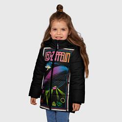 Куртка зимняя для девочки Led Zeppelin: Angel Poster - фото 2