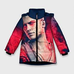 Куртка зимняя для девочки DmC: Devil May Cry цвета 3D-черный — фото 1