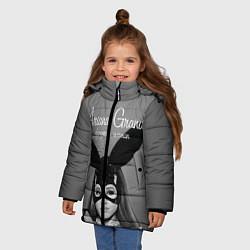 Куртка зимняя для девочки Ariana Grande: Rabbit цвета 3D-черный — фото 2