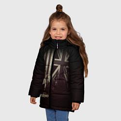 Куртка зимняя для девочки Taboo London - фото 2