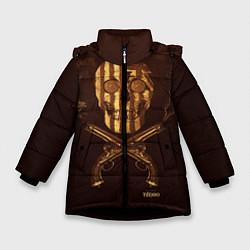 Куртка зимняя для девочки Taboo Duel цвета 3D-черный — фото 1