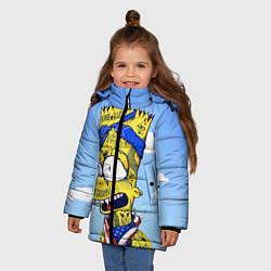 Куртка зимняя для девочки Aye Caramba! цвета 3D-черный — фото 2