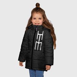 Куртка зимняя для девочки HIM - фото 2