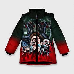 Куртка зимняя для девочки Jigsaw: The Fear цвета 3D-черный — фото 1