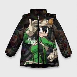 Детская зимняя куртка для девочки с принтом Plus Ultra: My Hero Academia, цвет: 3D-черный, артикул: 10144543506065 — фото 1