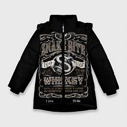 Куртка зимняя для девочки Snake Bite цвета 3D-черный — фото 1