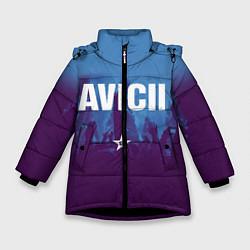 Куртка зимняя для девочки Avicii Star цвета 3D-черный — фото 1