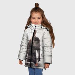 Куртка зимняя для девочки Uncharted 4: Nathan цвета 3D-черный — фото 2