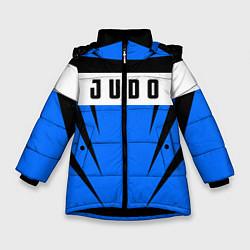 Куртка зимняя для девочки Judo Fighter цвета 3D-черный — фото 1