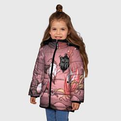 Куртка зимняя для девочки Don't Starve Together цвета 3D-черный — фото 2