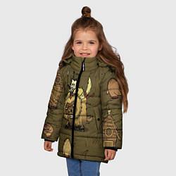 Куртка зимняя для девочки Wild Wilson - фото 2