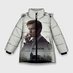 Куртка зимняя для девочки True Detective: Autumn цвета 3D-черный — фото 1