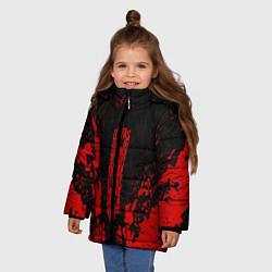 Куртка зимняя для девочки Berserk Sword цвета 3D-черный — фото 2