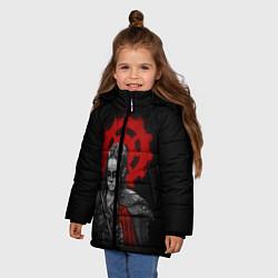 Куртка зимняя для девочки Commander Lexa цвета 3D-черный — фото 2