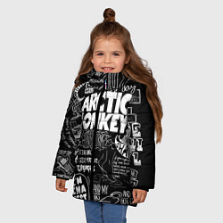 Куртка зимняя для девочки Arctic Monkeys: I'm in a Vest - фото 2