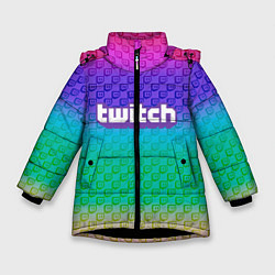 Куртка зимняя для девочки Rainbow Twitch - фото 1