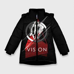 Куртка зимняя для девочки Vision цвета 3D-черный — фото 1