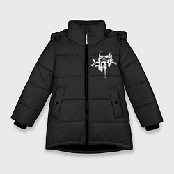 Куртка зимняя для девочки White Stormtroopers цвета 3D-черный — фото 1