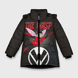 Куртка зимняя для девочки The Wasp comics цвета 3D-черный — фото 1