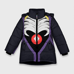 Куртка зимняя для девочки Overlord Momonga цвета 3D-черный — фото 1