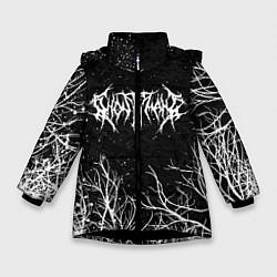 Куртка зимняя для девочки GHOSTEMANE цвета 3D-черный — фото 1