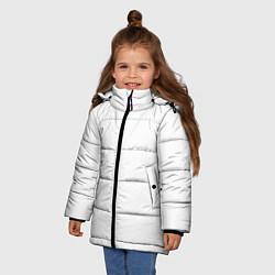 Куртка зимняя для девочки Без дизайна цвета 3D-черный — фото 2