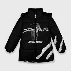Куртка зимняя для девочки XXXTENTACION SKINS цвета 3D-черный — фото 1